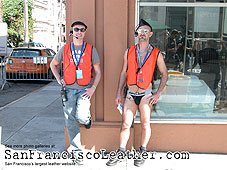 Volunteers at Folsom Street Fair 2007 - Click for larger image