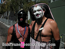 Sisters of Perpetual Indulgence at Folsom Street Fair 2007 - Click for larger image