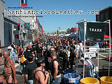 The Crowd at Folsom Street Fair 2007 - Click for larger image