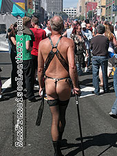 Man in High Heels at Folsom Street Fair 2007 - Click for larger image