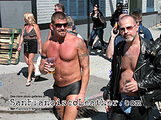 Man in Shorts at Folsom Street Fair 2007 - Click for larger image
