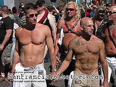 Muscle Boys at Folsom Street Fair 2007 - Click for larger image