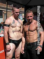 Tattooed Porn Stars at Folsom Street Fair 2007 - Click for larger image
