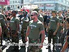 Army Porn Stars at Folsom Street Fair 2007 - Click for larger image