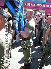 Grunts Porn Actors at Folsom Street Fair 2007 - Click for larger image