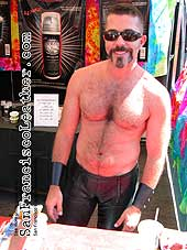 Sister Roma and Topher at Folsom Street Fair 2007 - Click for larger image