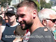 Handsome Man at Folsom Street Fair 2007 - Click for larger image