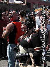 Woman Dressed as Horse at Folsom Street Fair 2007 - Click for larger image