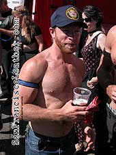 Man with Beard at Folsom Street Fair 2007 - Click for larger image