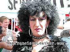 Drag Queen at Folsom Street Fair 2007 - Click for larger image
