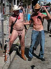 Naked Cowboys at Folsom Street Fair 2007 - Click for larger image