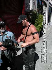 Leatherman at Folsom Street Fair 2007 - Click for larger image