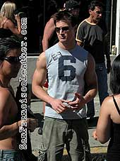 Young Man at Folsom Street Fair 2007 - Click for larger image