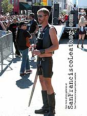 Man in Leather at Folsom Street Fair 2007 - Click for larger image